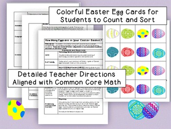 How Many Eggs are in Your Easter Basket? Counting and Computer Graphing Activity