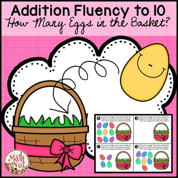 Easter Math: Addition Fluency to 10