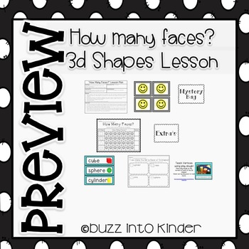 How Many Faces? A 3-D Shapes Lesson