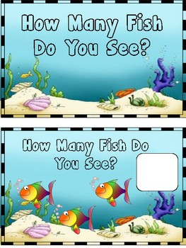 How Many Fish Do You See? Adapted Book