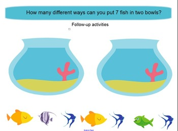 SMARTboard How Many Fish? Making and Breaking Numbers