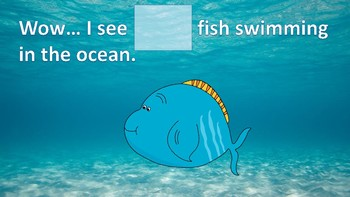 How Many Fishes are Swimming in the Ocean (Adaptive Counting Book #s 1-20)