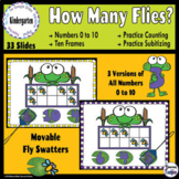 How Many Flies? Ten Frame Counting to 10 - Google Classroo