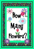 How Many Flowers? - Math Counting Activities