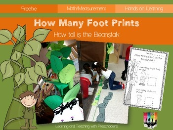 How Many Foot Prints? Measurement Activity