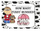 How Many Funny Bunnies? Math for Kindergarten
