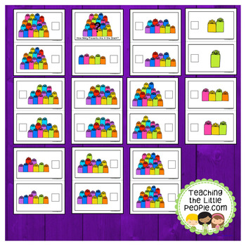 How Many Gifts in the Stack: A Counting to 20 Interactive Book