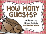 How Many Guests? {Number Words}