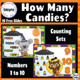 How Many Halloween Candies? Counting to 10 - Google Classr