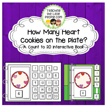 How Many Heart Cookies on the Plate? A Counting to 20 Interactive Book