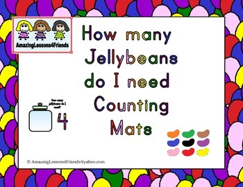 How Many Jellybeans do I Need Counting Mats