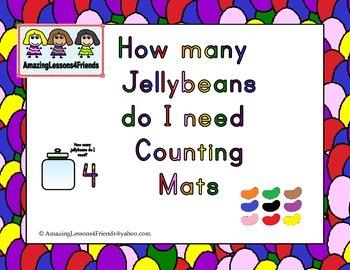 How Many Jellybeans do I Need Counting Mats