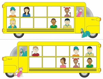 How Many Kids Are on the Bus - Subitizing to Ten