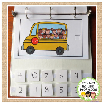 How Many Kids on the Bus? A Counting to 20 Interactive Book
