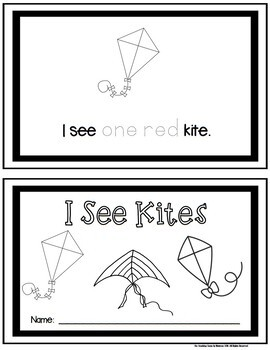 How Many Kites? Student Booklet {FREE}