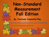 How Many Leaves Tall Are You?  Fall Edition Non-Standard Measurement