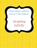 How Many Letters Are In Your Name Graphing Activity