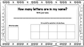 How Many Letters are in your Name?