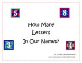 How Many Letters in Our Names