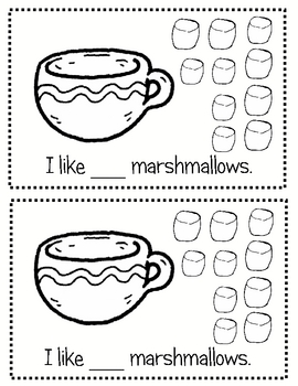 How Many Marshmallows Do You Like?  (emergent reader)