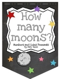 How Many Moons? Numbers 1 to 30 Pennant Banner (Chalky Spa