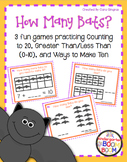 Number Fluency Center Games/Activities (K/1) - Halloween