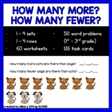 How Many More? How Many Fewer?