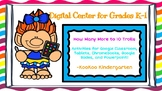 How Many More to 10-Digital Math Center for Google Classroom