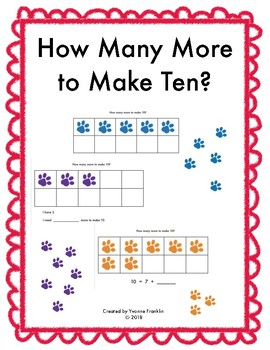 How Many More to Make Ten?