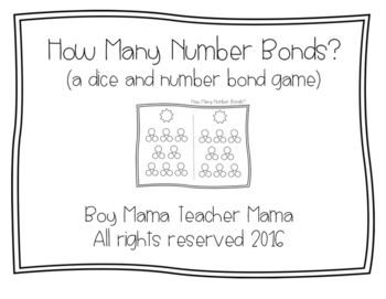 How Many Number Bonds Can You Make?