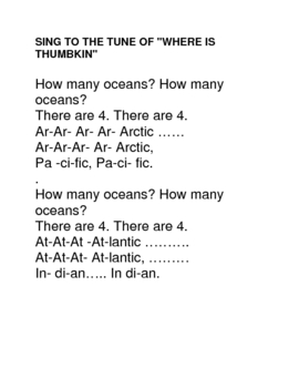 How Many Oceans?