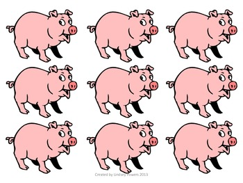 How Many Pigs Rolled Out of the Mud? A Subtraction Game