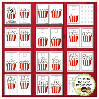 How Many Popcorn Kernels in the Bucket: A Counting to 20 Interactive Book