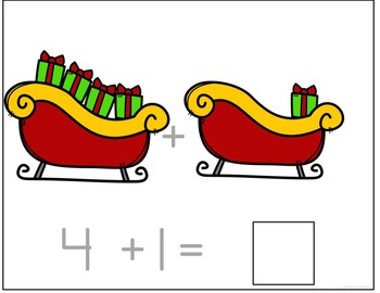 How Many Presents' Counting and Addition Books: Interactive and Differentiated