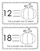 How Many Pumpkin Seeds? Pattern Book/Number Recognition