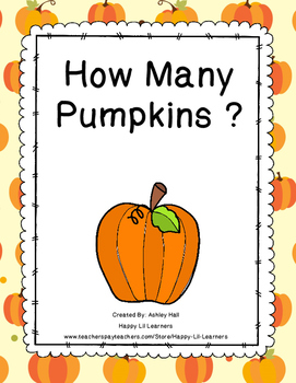 How Many Pumpkins Flip Book