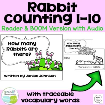 How Many Rabbits are There? Number/Counting Readers ~ for Young Readers