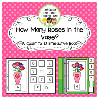 How Many Roses in the Vase: A Counting to 10 Interactive Book