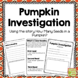 How Many Seeds in a Pumpkin Investigation