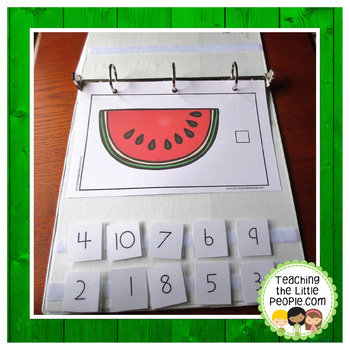 How Many Seeds in the Watermelon Slice: A Counting to 10 Interactive Book
