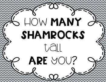 How Many Shamrocks Tall Are You?