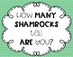 How Many Shamrocks Tall Are You?