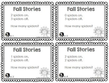 How Many? Sorting, Counting, Writing and Problem Solving Centers- Fall Edition