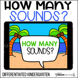 How Many Sounds? A Phonemic Awareness Boom Cards Activity