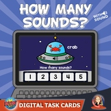How Many Sounds?  Digital Boom Task Cards