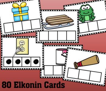 Phoneme-Segmentation Elkonin Boxes Card Set