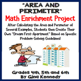 Area and Perimeter Project , Fun Enrichment For Upper Elem