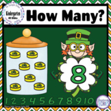 How Many? Counting to 10 St. Patrick's Day - Google Classr