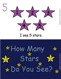 How Many Stars Do You See? (Early Reader and Math Activity)