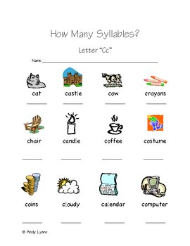 How Many Syllables
